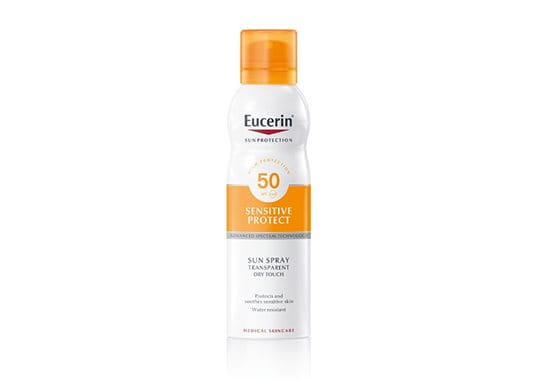 Spray Solar Transparente Toque Seco FPS 50